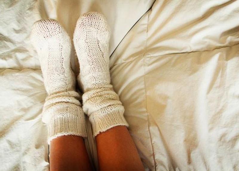 Русское в белых носочках