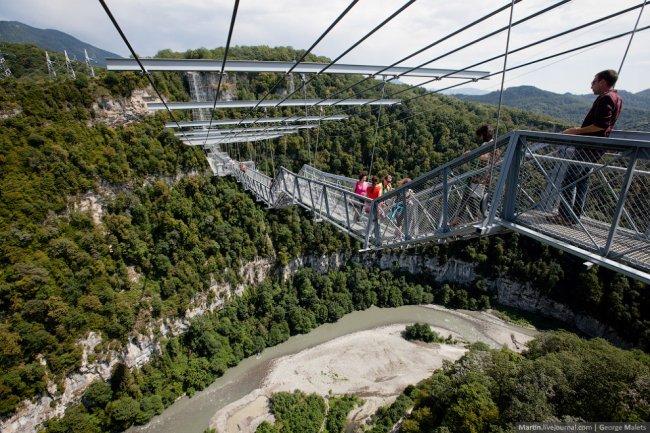 фото подвесной мост