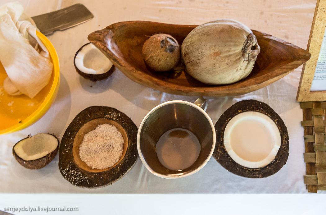 Как сделать из кокоса маску