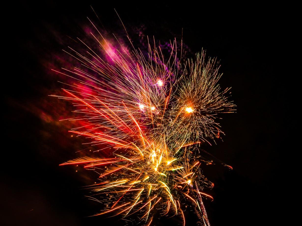 Лучший фейерверк на новый год