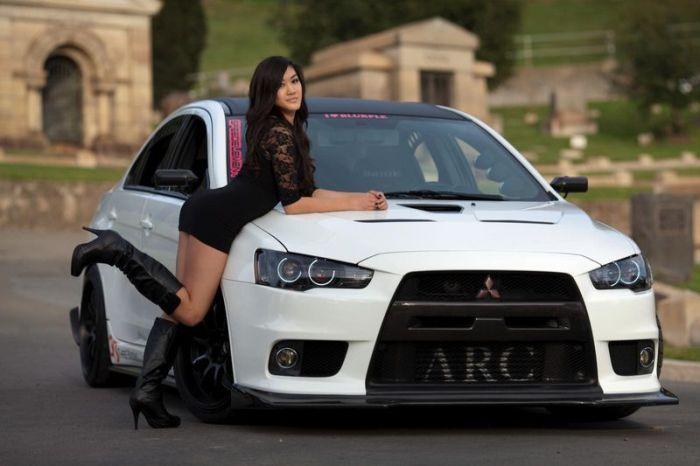 красивые девушки и машины картинки