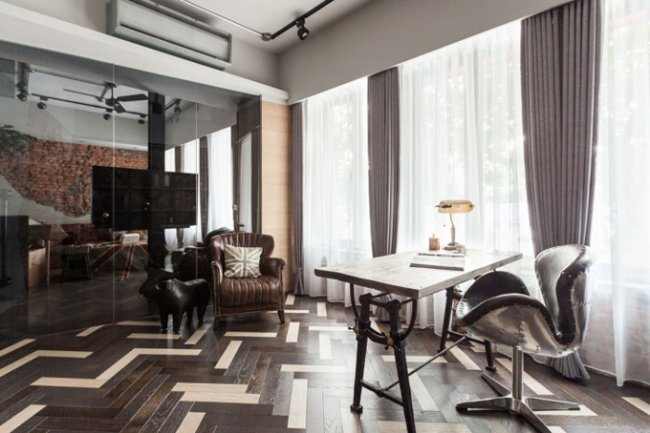 Интерьер Taipei City Apartment