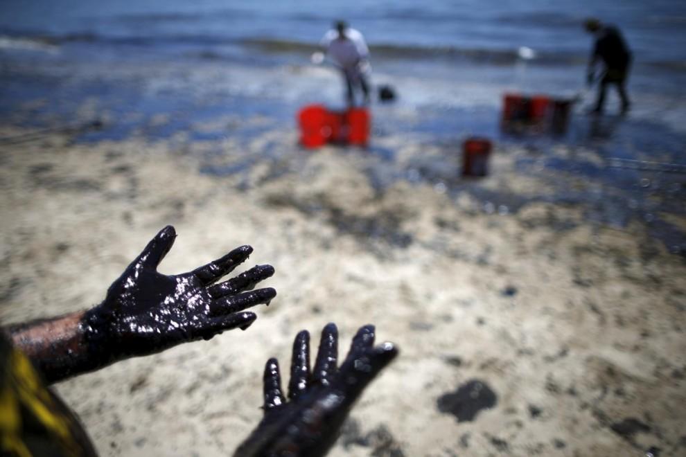 разлив нефти в америке в 2016 году брюнетка