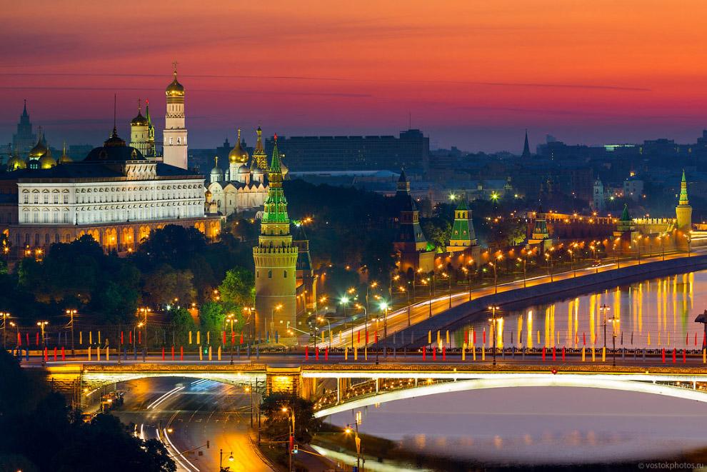 Самые необычные мосты Москвы