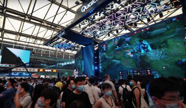 China Digital Entertainment Expo в Шанхае